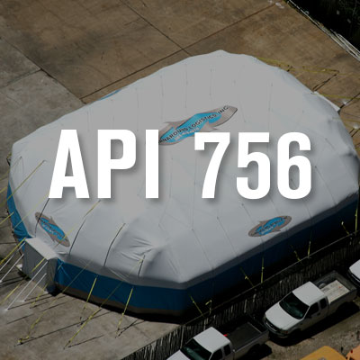 API 756 suggests updated guidelines for tent siting evaluations Blast toxin and weather-resistant & Turnaround Logistics u2013 On-site Solutions for All Situations